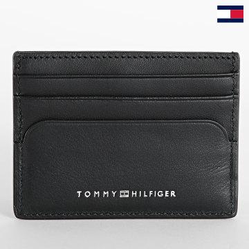 https://laboutiqueofficielle-res.cloudinary.com/image/upload/v1627647047/Desc/Watermark/7logo_tommy_hilfiger.svg Tommy Hilfiger - Porte-cartes Commuter 7836 Noir