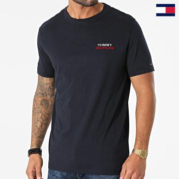 https://laboutiqueofficielle-res.cloudinary.com/image/upload/v1627647047/Desc/Watermark/7logo_tommy_hilfiger.svg Tommy Hilfiger - Tee Shirt 2350 Bleu Marine