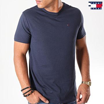 https://laboutiqueofficielle-res.cloudinary.com/image/upload/v1627651009/Desc/Watermark/3logo_tommy_jeans.svg Tommy Jeans - Tee Shirt Original Bleu Marine