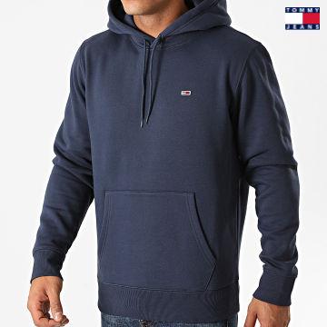 https://laboutiqueofficielle-res.cloudinary.com/image/upload/v1627651009/Desc/Watermark/3logo_tommy_jeans.svg Tommy Jeans - Sweat Capuche 9593 Bleu Marine