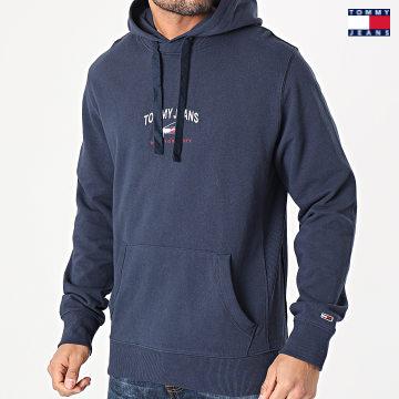 https://laboutiqueofficielle-res.cloudinary.com/image/upload/v1627651009/Desc/Watermark/3logo_tommy_jeans.svg Tommy Jeans - Sweat Capuche Timeless Tommy 0208 Bleu Marine