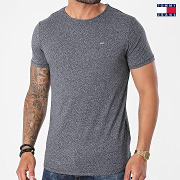 https://laboutiqueofficielle-res.cloudinary.com/image/upload/v1627651009/Desc/Watermark/3logo_tommy_jeans.svg Tommy Jeans - Tee Shirt Oversize Slim Jaspe 9586 Bleu Marine Chiné