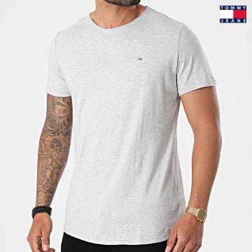 https://laboutiqueofficielle-res.cloudinary.com/image/upload/v1627651009/Desc/Watermark/3logo_tommy_jeans.svg Tommy Jeans - Tee Shirt Oversize Slim Jaspe 9586 Gris Chiné