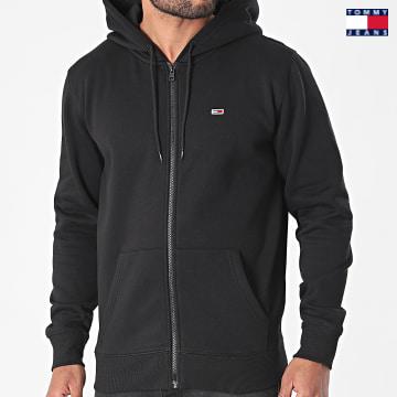 https://laboutiqueofficielle-res.cloudinary.com/image/upload/v1627651009/Desc/Watermark/3logo_tommy_jeans.svg Tommy Jeans - Sweat Zippé Capuche 9592 Noir