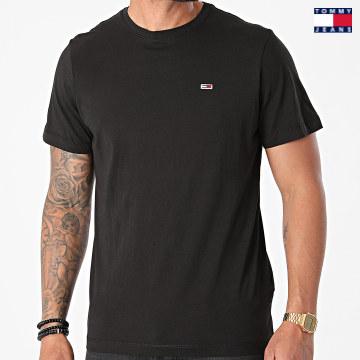 https://laboutiqueofficielle-res.cloudinary.com/image/upload/v1627651009/Desc/Watermark/3logo_tommy_jeans.svg Tommy Jeans - Tee Shirt Classic Jersey 9598 Noir