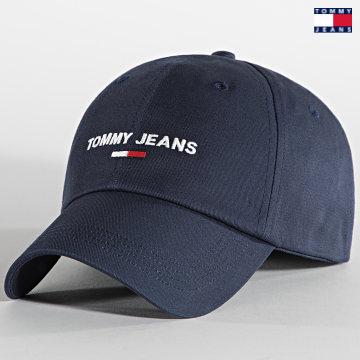 https://laboutiqueofficielle-res.cloudinary.com/image/upload/v1627651009/Desc/Watermark/3logo_tommy_jeans.svg Tommy Jeans - Casquette TJM Sport 7527 Bleu Marine