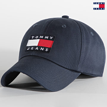 https://laboutiqueofficielle-res.cloudinary.com/image/upload/v1627651009/Desc/Watermark/3logo_tommy_jeans.svg Tommy Jeans - Casquette TJM Heritage 7531 Bleu Marine