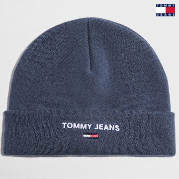 https://laboutiqueofficielle-res.cloudinary.com/image/upload/v1627651009/Desc/Watermark/3logo_tommy_jeans.svg Tommy Jeans - Bonnet Sport 7678 Bleu Marine