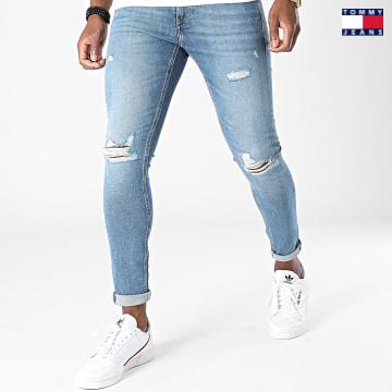 https://laboutiqueofficielle-res.cloudinary.com/image/upload/v1627651009/Desc/Watermark/3logo_tommy_jeans.svg Tommy Jeans - Jean Skinny Miles 0829 Bleu Denim