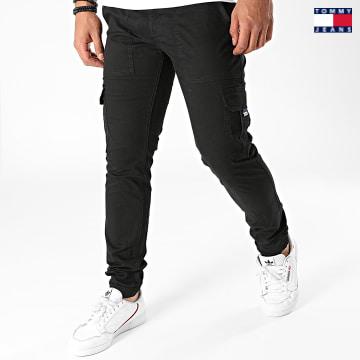 https://laboutiqueofficielle-res.cloudinary.com/image/upload/v1627651009/Desc/Watermark/3logo_tommy_jeans.svg Tommy Jeans - Jogger Pant Slim Scanton 9660 Noir