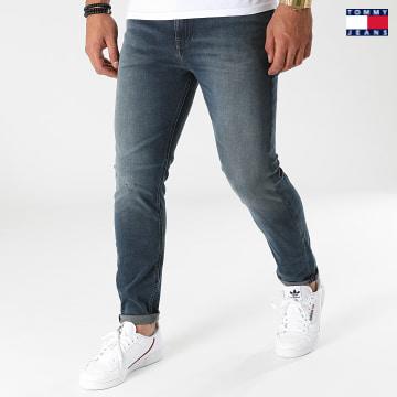 https://laboutiqueofficielle-res.cloudinary.com/image/upload/v1627651009/Desc/Watermark/3logo_tommy_jeans.svg Tommy Jeans - Jean Skinny Simon 0814 Bleu Denim