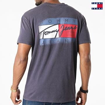 https://laboutiqueofficielle-res.cloudinary.com/image/upload/v1627651009/Desc/Watermark/3logo_tommy_jeans.svg Tommy Jeans - Tee Shirt Faded Flag Bleu Marine