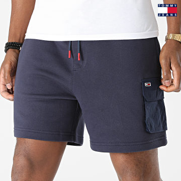 https://laboutiqueofficielle-res.cloudinary.com/image/upload/v1627651009/Desc/Watermark/3logo_tommy_jeans.svg Tommy Jeans - Short Jogging Fabric Mix 0960 Bleu Marine