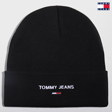 https://laboutiqueofficielle-res.cloudinary.com/image/upload/v1627651009/Desc/Watermark/3logo_tommy_jeans.svg Tommy Jeans - Bonnet 7947 Noir