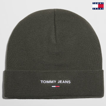 https://laboutiqueofficielle-res.cloudinary.com/image/upload/v1627651009/Desc/Watermark/3logo_tommy_jeans.svg Tommy Jeans - Bonnet Sport 7947 Vert Kaki