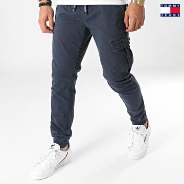 https://laboutiqueofficielle-res.cloudinary.com/image/upload/v1627651009/Desc/Watermark/3logo_tommy_jeans.svg Tommy Jeans - Jogger Pant Slim Scanton 1246 Bleu Marine