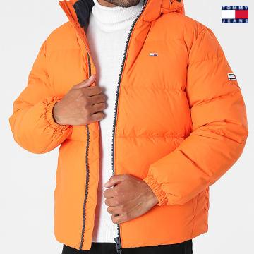 https://laboutiqueofficielle-res.cloudinary.com/image/upload/v1627651009/Desc/Watermark/3logo_tommy_jeans.svg Tommy Jeans - Doudoune Capuche Essential Down 2171 Orange