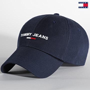 https://laboutiqueofficielle-res.cloudinary.com/image/upload/v1627651009/Desc/Watermark/3logo_tommy_jeans.svg Tommy Jeans - Casquette Sport Cap 7948 Bleu Marine