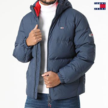 https://laboutiqueofficielle-res.cloudinary.com/image/upload/v1627651009/Desc/Watermark/3logo_tommy_jeans.svg Tommy Jeans - Doudoune Capuche Essential Down 2171 Bleu Marine