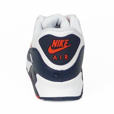 OLD N - Baskets Nike Air Max 90 Blanc Marine ...