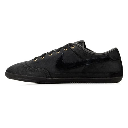 OLD N Baskets Nike Flash Leather Noir Noir