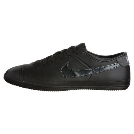 OLD N Baskets Nike Flash Leather Noir Blanc Gris