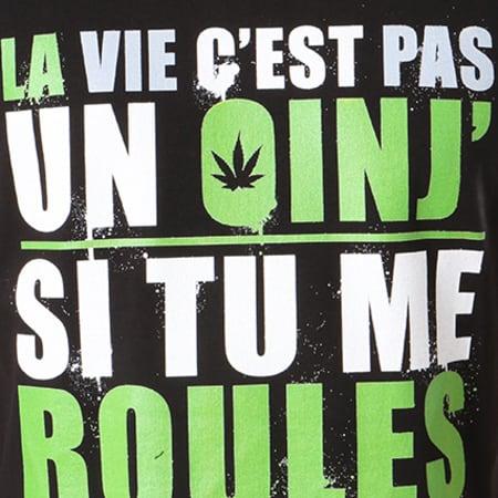 Tee Shirt Guizmo Oinj Noir Vert