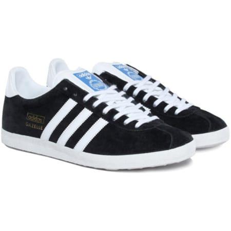 Adidas Originals - Baskets Adidas Gazelle OG Noir ...