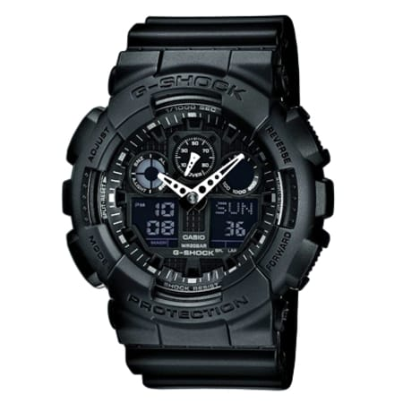 Montre Casio G-Shock GA-100-1A1ER Noir
