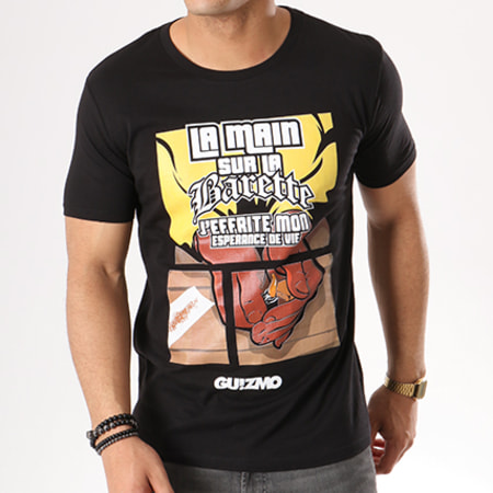 Tee Shirt Guizmo Esperance Noir