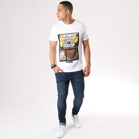 Y et W - Tee Shirt Guizmo Espérance Blanc