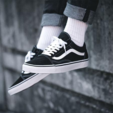 Vans - Baskets Old Skool D3HY28 Black White