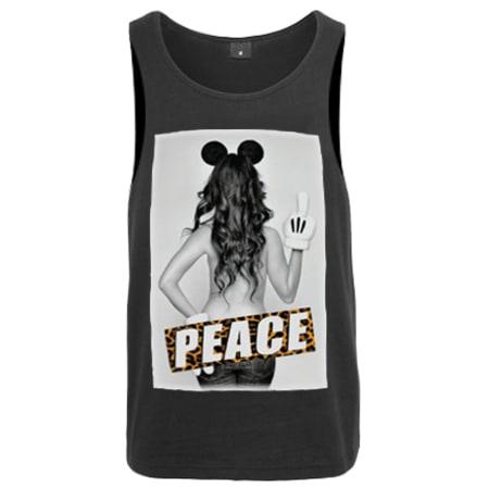 Débardeur KozaNostra Peace Noir leopard
