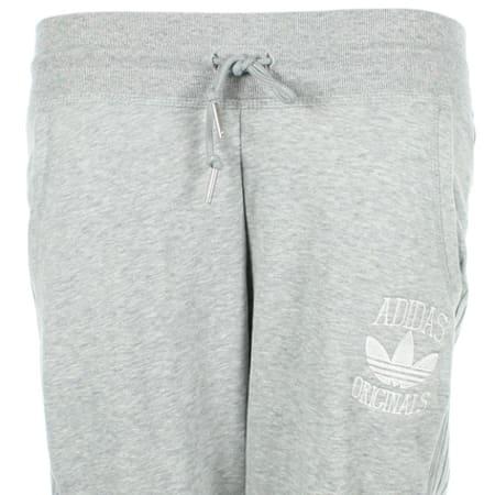 jogging femme gris adidas