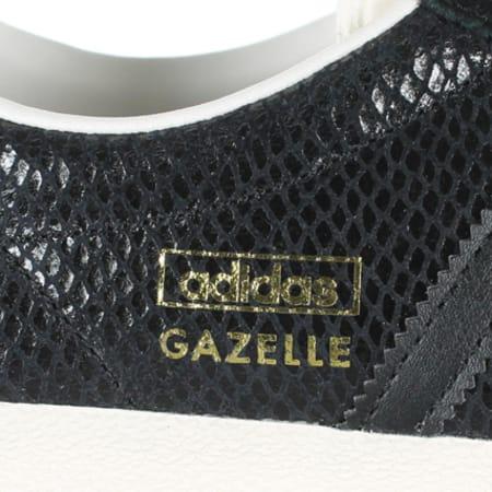 baskets femme adidas gazelle og serpent noir