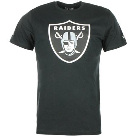 Tee Shirt New Era Team Oakland Raiders Noir