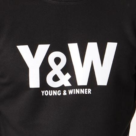 Y et W - Sweat Crewneck Classic Logo Noir