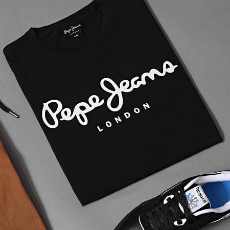 Pepe Jeans - Tee Shirt Original Stretch Noir
