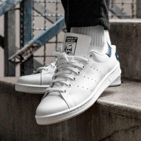 adidas - Baskets Stan Smith M20325 Running White New Navy