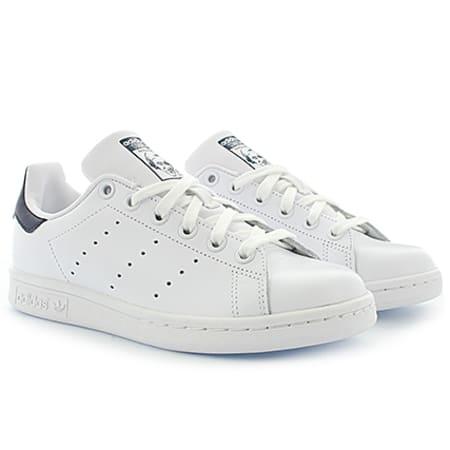 Baskets Adidas Stan Smith Originals Blanc Bleu