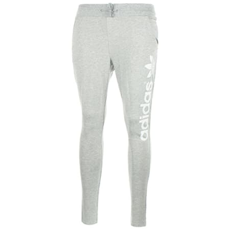 jogging femme adidas gris