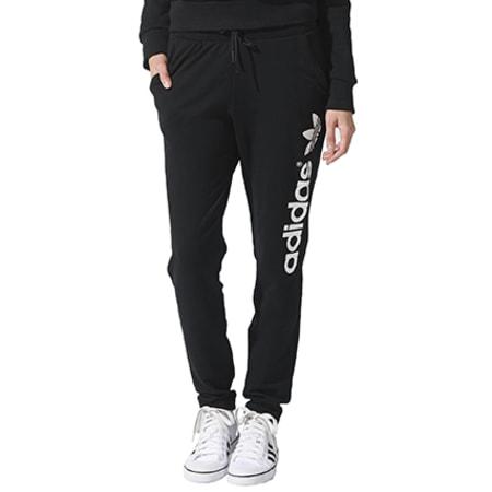 jogging femme adidas noir