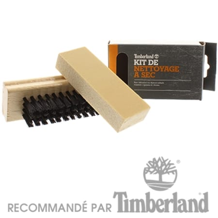 brosse chaussures timberland