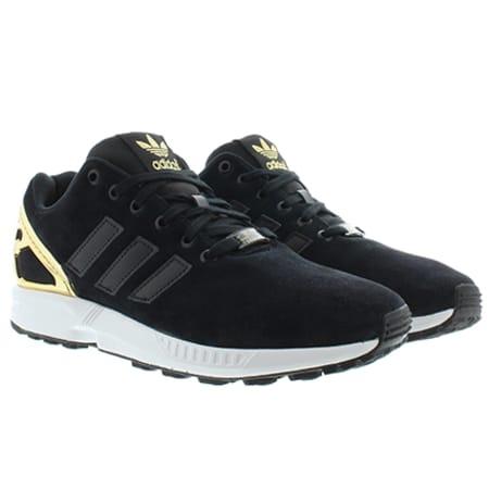 adidas zx flux noir et gold
