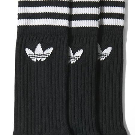 adidas - Lot De 3 Paires De Chaussettes S21490 Noir