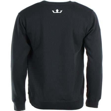OKLM - Sweat Crewneck Big Logo Noir Typo Blanc