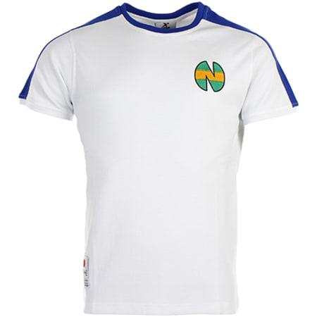 Okawa Sport - Tee Shirt New Team Blanc Bleu
