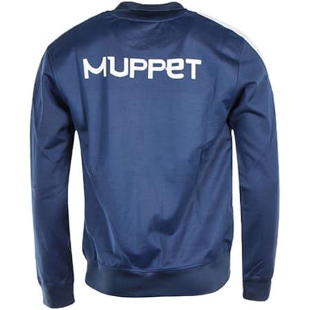 Okawa Sport - Veste Zippée Olive et Tom Muppet Bleu Marine