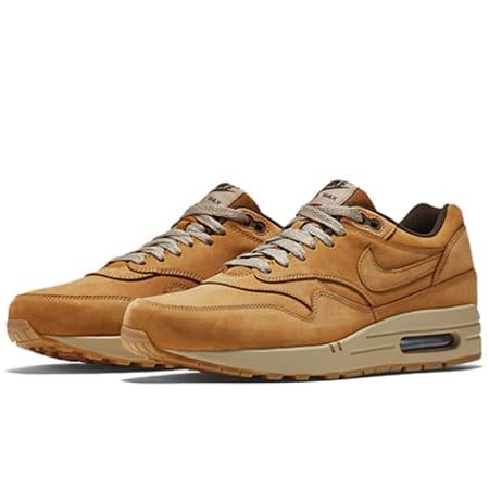 Nike Baskets Air Max 1 Leather Premium Camel