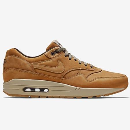 air max 1 cuir marron